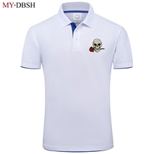 Polo Brand Clothing Tops Short-Sleeves Embroidery Casual Men Fashion Rose Male MYDBSH