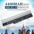 4400 mah branco bateria do portátil para asus eee pc 1001px 1001 1005 1101