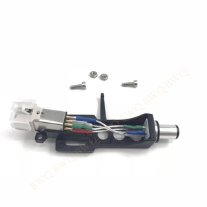 Image 3 - Combom! Magnetic Cartridge Stylus With Turntable Headshell 4 Pin Contacts For Phonograph Turntable Gramophone LP Vinyl Needle