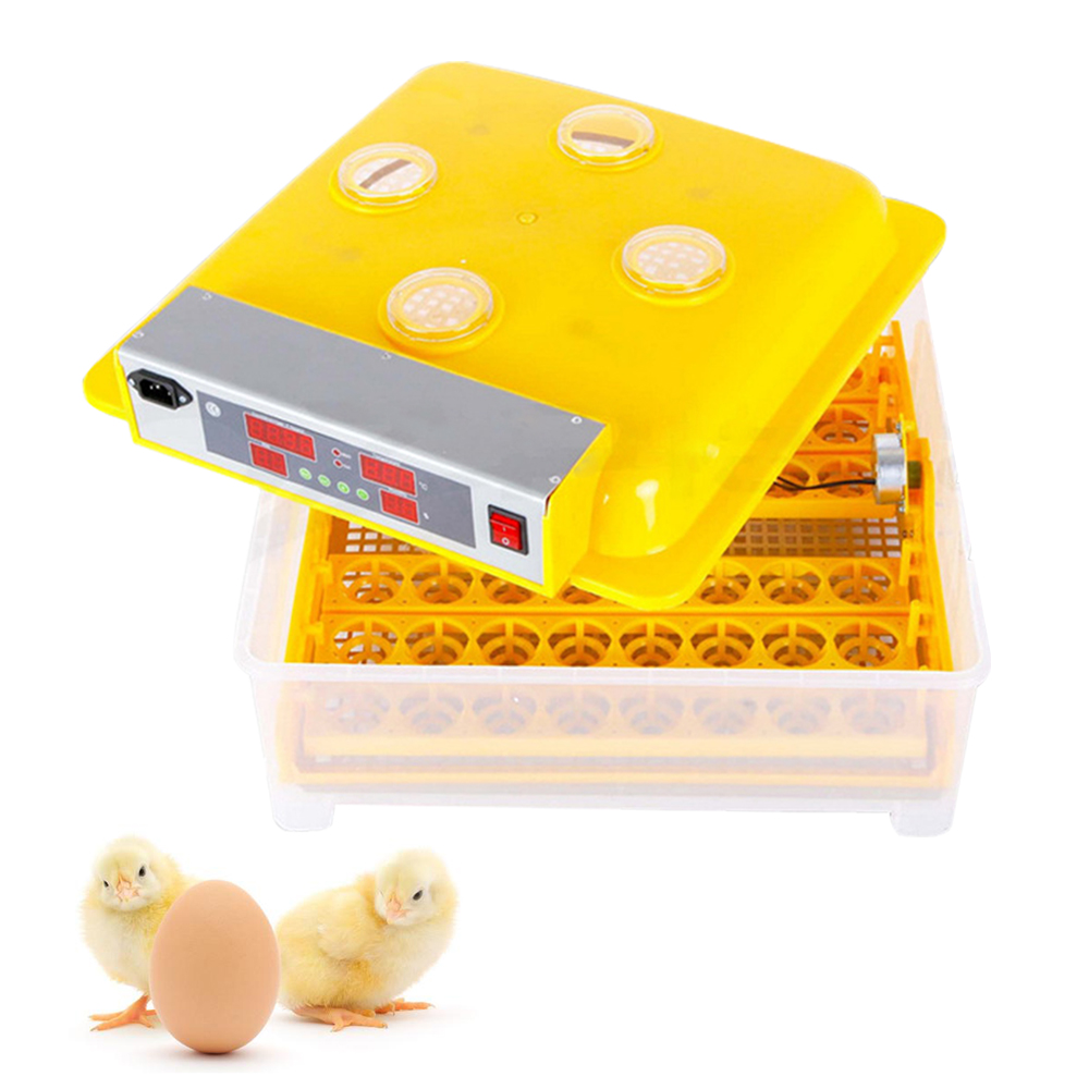 ZZ48 Automatic Egg Incubators Fully Hatchery Machine Mini 48 Chicken Sale Automatic Turn for Chicken Duck