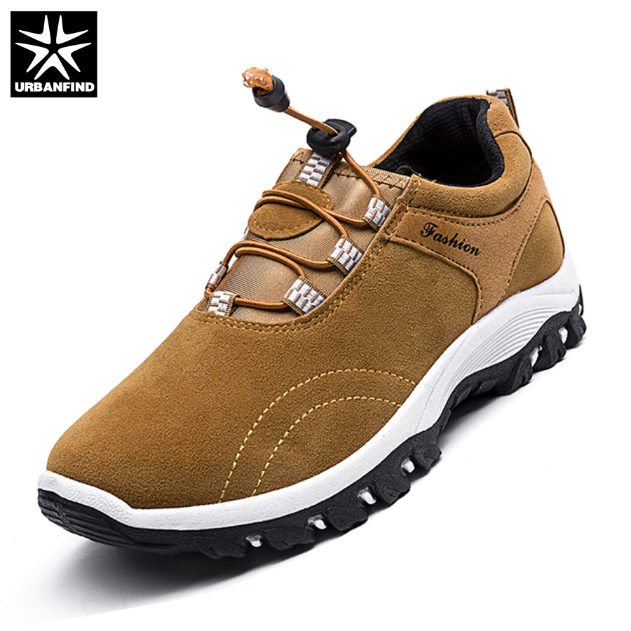 URBANFIND Autumn Winter Footwear Man Casual Shoes Size 39-44 Durable Rubber Sole Man Fashion Sneakers