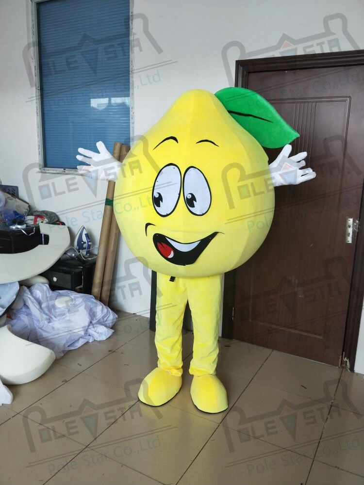 ffb49290f1 Hot Sale hot sale lemon mascot costumes custom carton fruit mascot ...