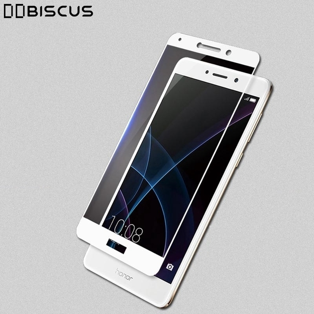 Tempered Glass Screen Full Cover Protector For Huawei Honor 6X X6 BLN L21