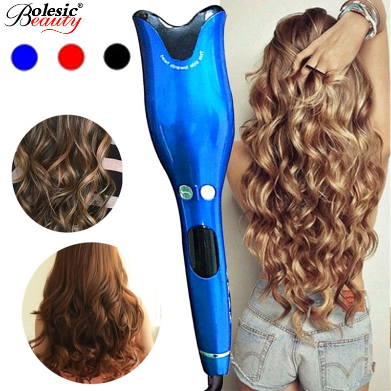Automatic Hair Curler Professional Hair Curler Roller Air Spin & N Curl 1 Inch Ceramic Rotating Curler with LED Digital Display