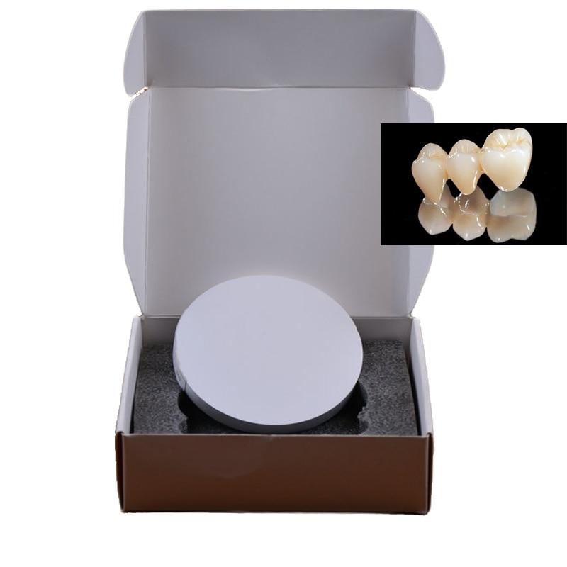 10 pièces de HT ST OD98mm CAD/CAM dentaire zircone blocs en céramique Wieland système ouvert système zircone disques avec bord bosquets
