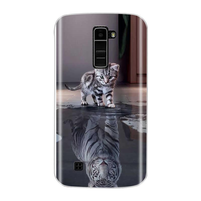 Per LG K10 Della Copertura Molle di TPU Cassa Del Telefono Per LG K10 LTE K420N K430 K430ds Custodie Del Silicone Della Copertura Posteriore Per LG K10 2016 Capas Fundas