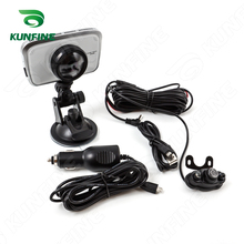 HD 1080P 3.5″ Display Dual Camera Digital Video Recorder car DVR Camera for Android with G-Sensor Cycle Recording KF-A1049