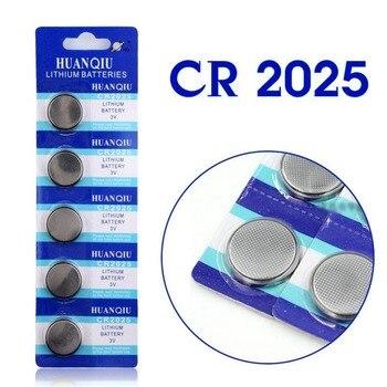 Hot bán 5 Cái 3 V Tế Bào Lithium Đồng Xu Nút Pin CR2025 BR2025 DL2025 KCR2025 2025 L12 EE6226
