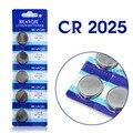 Venda quente 5 Pcs 3 V Células de Lítio Coin Botão Bateria DL2025 CR2025 BR2025 KCR2025 2025 L12 EE6226