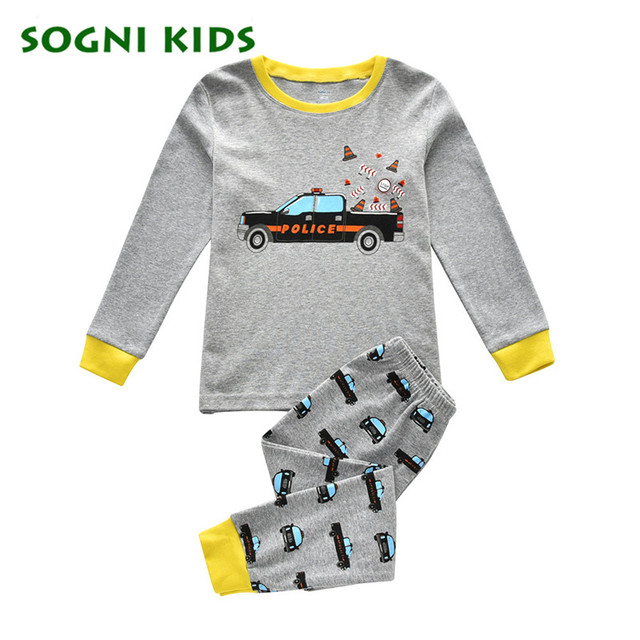18c04b75c Clearance Baby Boys Girls Clothing Set Children Kids Pajama Cotton Homewear  for 2019 Toddler Pijamas Clothes Long Sleepwear