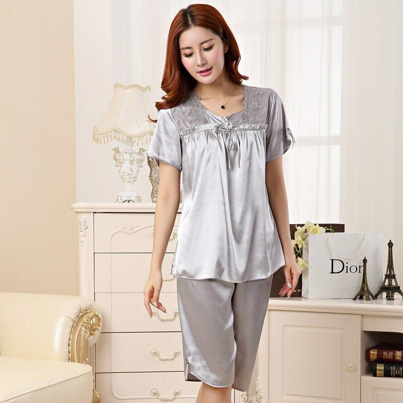 Home Artizan Frauen Kurze Pyjamas Set Kurzarm Shirts Pyjama Sets 2-stück Nachtwäsche