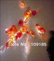 الجدار شنقا لوحات ديكور ملون زجاج مورانو الزجاج لوحة أسعار الجملة