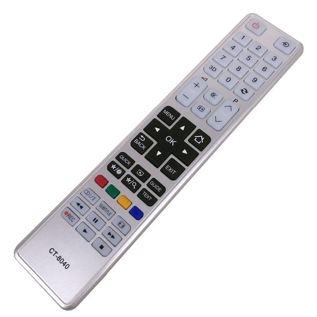 Nowy pilot do telewizora Toshiba CT-8040 40T5445DG 48L5435DG 48L5441DG tanie tanio XingZhiHua CN (pochodzenie) 433 mhz