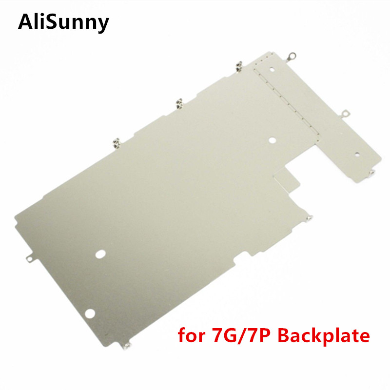 AliSunny 10pcs BackPlate Shield for iPhone 7 8 7G Plus 7Plus 8P LCD Metal Back Plate Parts