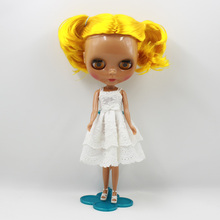 Neo Blythe Doll White Dress