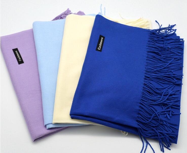 2017 brand women scarf fashion soild autumn winter cashmere scarves lady warmer pashmina long shawl wraps bandana