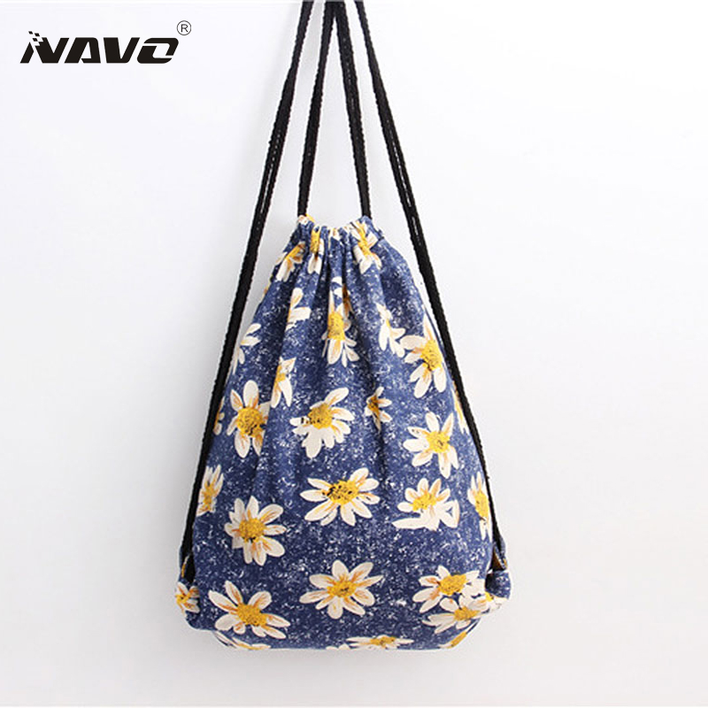 Online Get Cheap Drawstring Bags Flower Pattern -Aliexpress.com ...