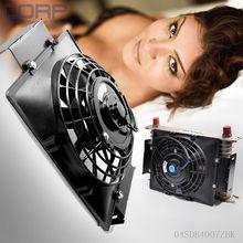2016 Новый Тонкий Обратимым Радиатор Охлаждения Вентилятора Универсальный 7 «12 В 80 Вт Push-Pull Электрические Масляный Радиатор Вентилятор двигатель