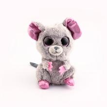 d114a693b86 Ty Vaias Gorro Cinza Rato Toy Boneca Stuffed   Plush Animais 6