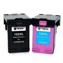 2 шт. картридж для hp 122 XL картридж для HP 122 для HP Deskjet 1050 1510 2000 2050 3000 3050A 3052A 3054A для HP 122 xl
