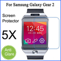 5PCS X Free shipping for Samsung Galaxy Gear 2 screen protector matte anti-glare protective film with retail package