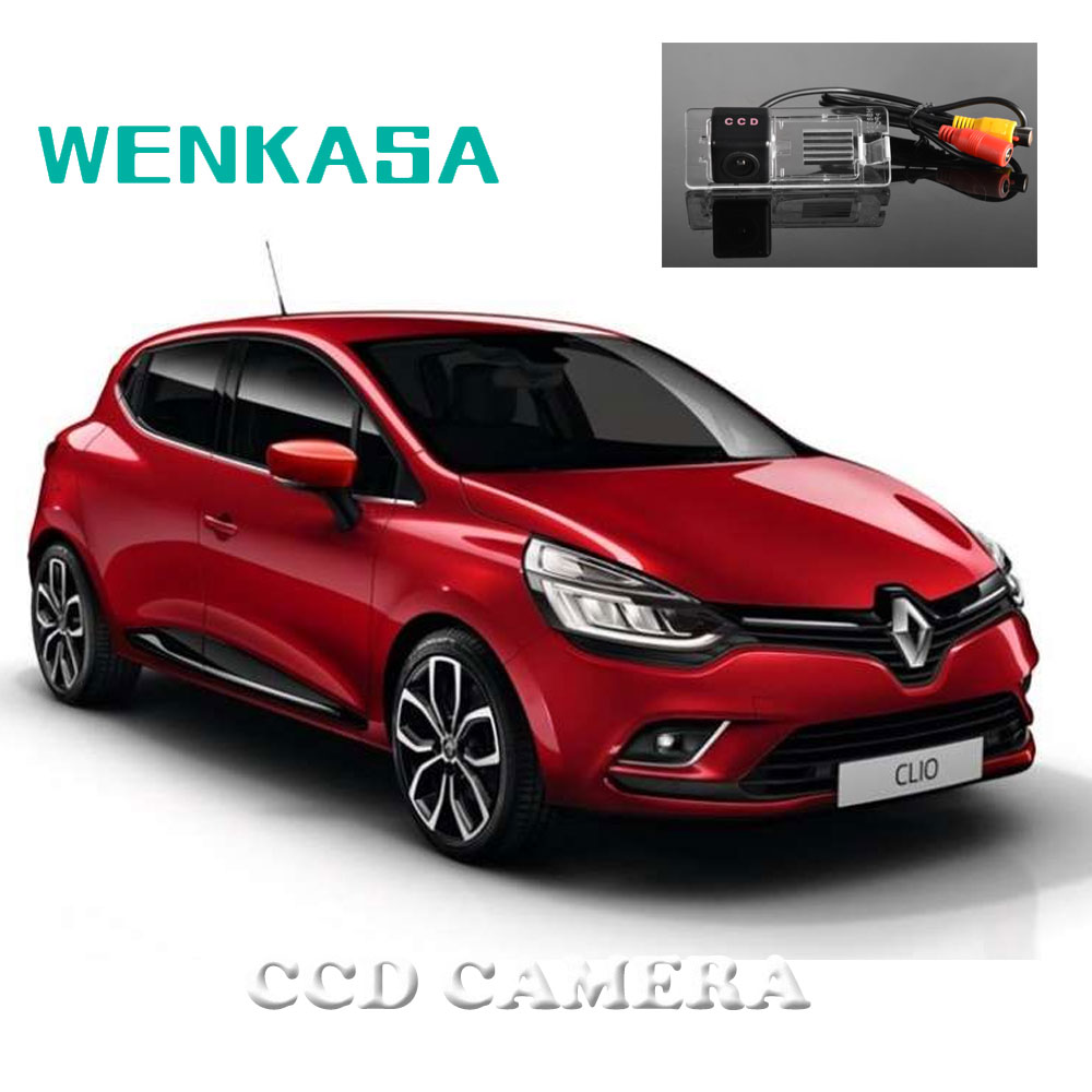 Renault Cars: WENKASA Rear View Camera For Renault Clio 4 IV 2012