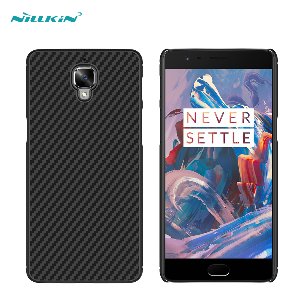 the latest 29748 4a7f7 US $15.88 |Nillkin For oneplus 3 cover Synthetic fiber Back Cover Case For  oneplus 3 case Military quality 5.5 inch mobile phone bag-in Phone Pouch ...
