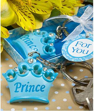 1pc Crown Key Ring Baptism Girl Boy Baby Shower Souvenirs Event Party  Supplies Wedding Favors Gifts For Guest In Party Favors From Home U0026 Garden  On ...