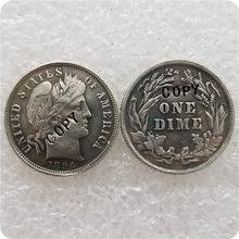 США 1894-P,S,O, Парикмахерская свобода головы монеты копии памятные монеты-копия монеты медаль коллекционные монеты