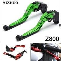 For KAWASAKI Z800 Z800E Version 2013 2014 2015 2016 Motorcycle Accessories Handlebar Folding Extendable Brake Clutch Levers