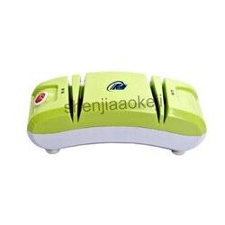 Automatyczne elektryczne szybki nóż temperówka szlifowania nóż maszyna do gospodarstwa domowego wielofunkcyjny elektryczna ostrzałka do noży 220v60w 1 pc w Roboty kuchenne od AGD na
