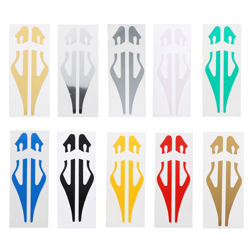 PinStripe Tape Decal Car Stickers Steamline White Gold Silver Double Line Motorcycle Car Styling Accessory