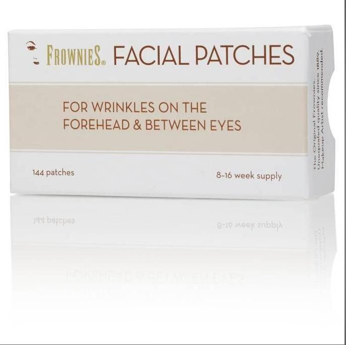 Original FROWNIES Facial Patches for Wrinkles Forehead Between Eyebrows 144 Patches
