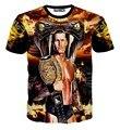O Legend Killer Randy 3D impressão de algodão de t-shirt , manga curta Homme de Viper solto verão