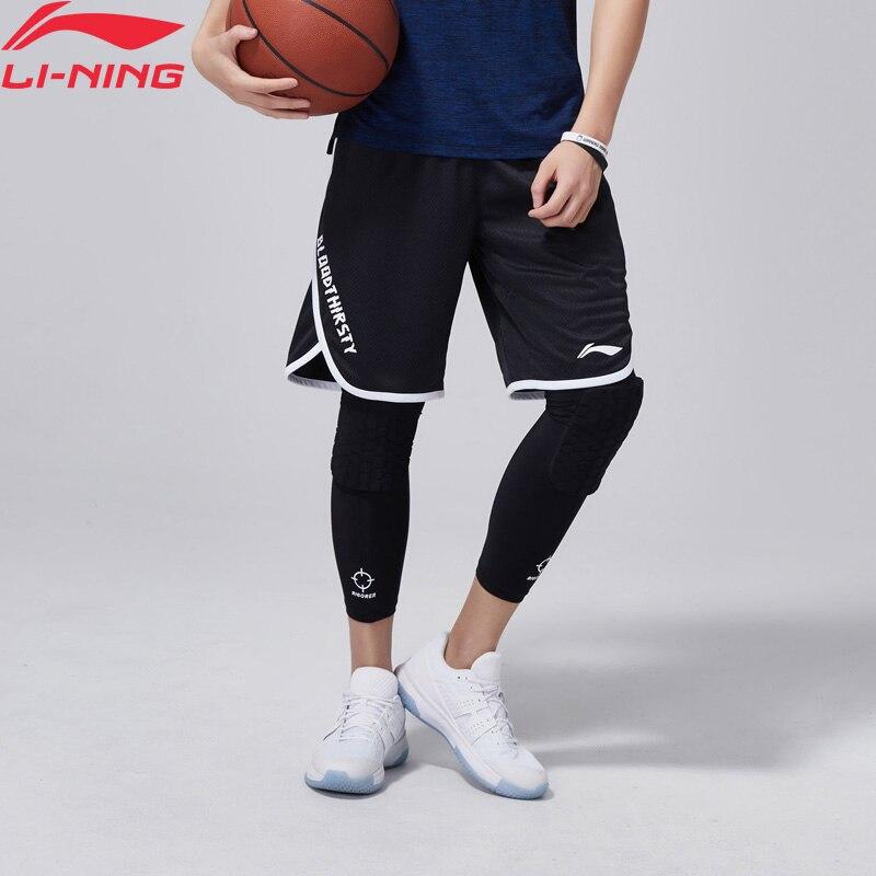 Li-Ning Men Basketball AT DRY Shorts Breathable Slim Fit Polyester LiNing Comfort Sports Shorts AAPN045 MKD1529