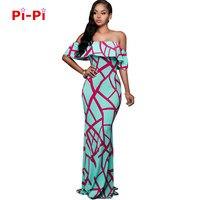 Free shipping 2017 New Summer print striped shawl printed woman dress slimming sexy dress 5217