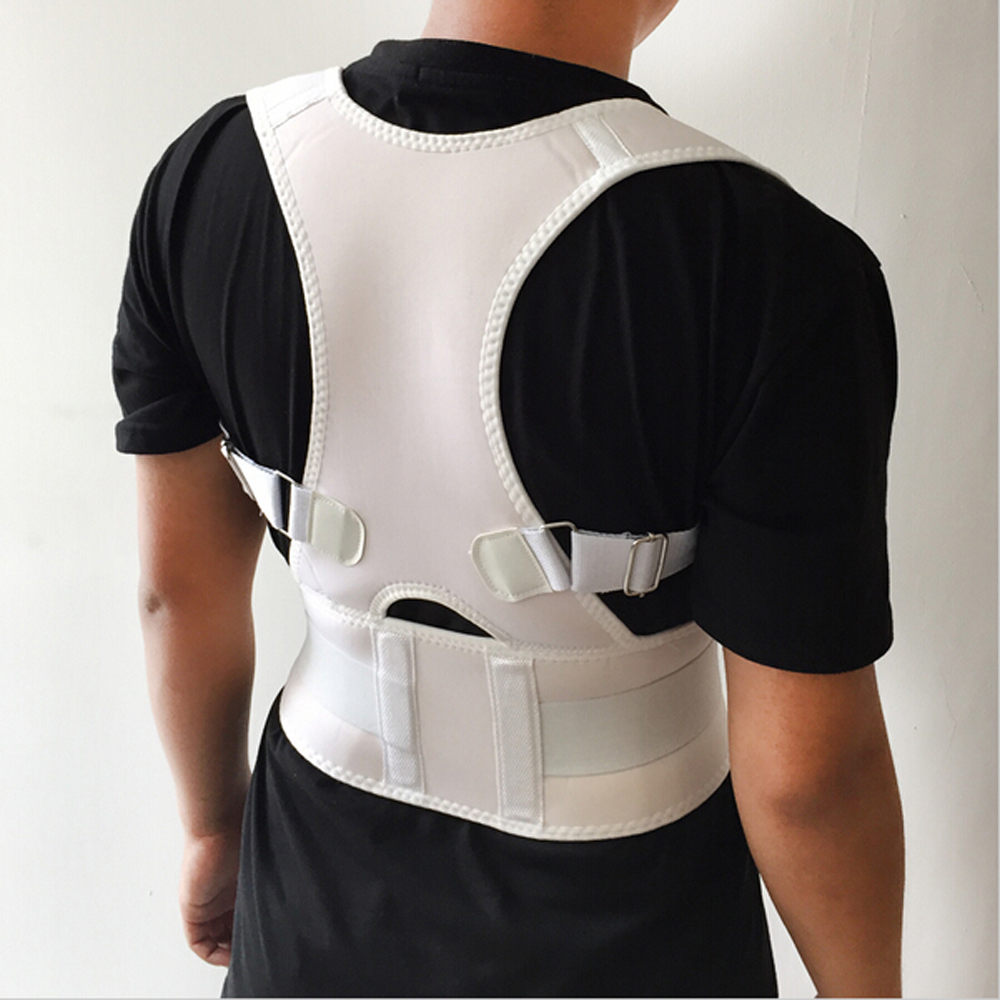 Adult Professional Sports Bak Protect Support Men And Women Fitness Back Braces New Magnetic Back Support Belt