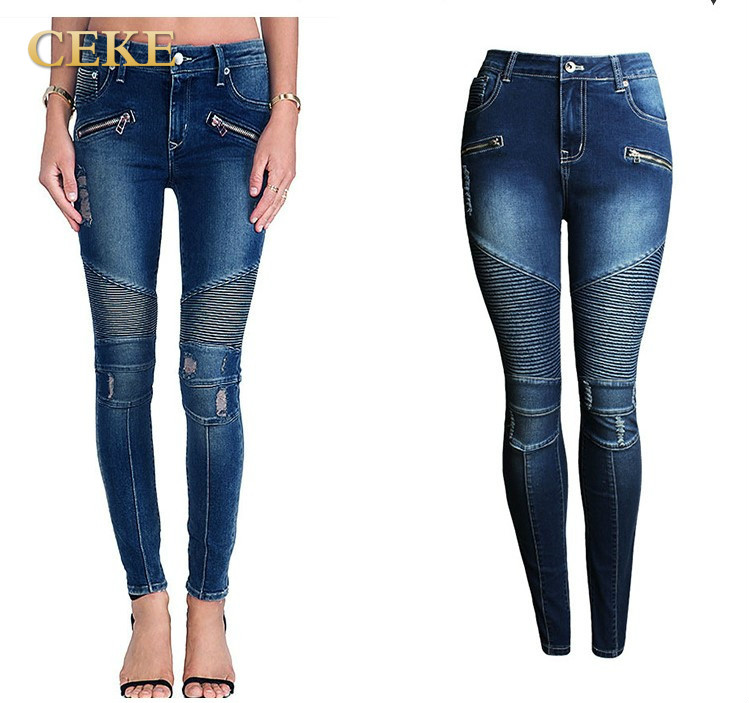 Popular Womens Ripped Fitted Jeans-Buy Cheap Womens Ripped Fitted ...
