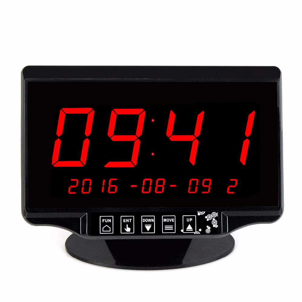 TIVDIO 2.3 Black Wireless Calling Waiting System Receiver Host For Restaurant with Voice Broadcast Touch Screen 433MHz F3260A wireless pager system 433 92mhz wireless restaurant table buzzer with monitor and watch receiver 3 display 42 call button