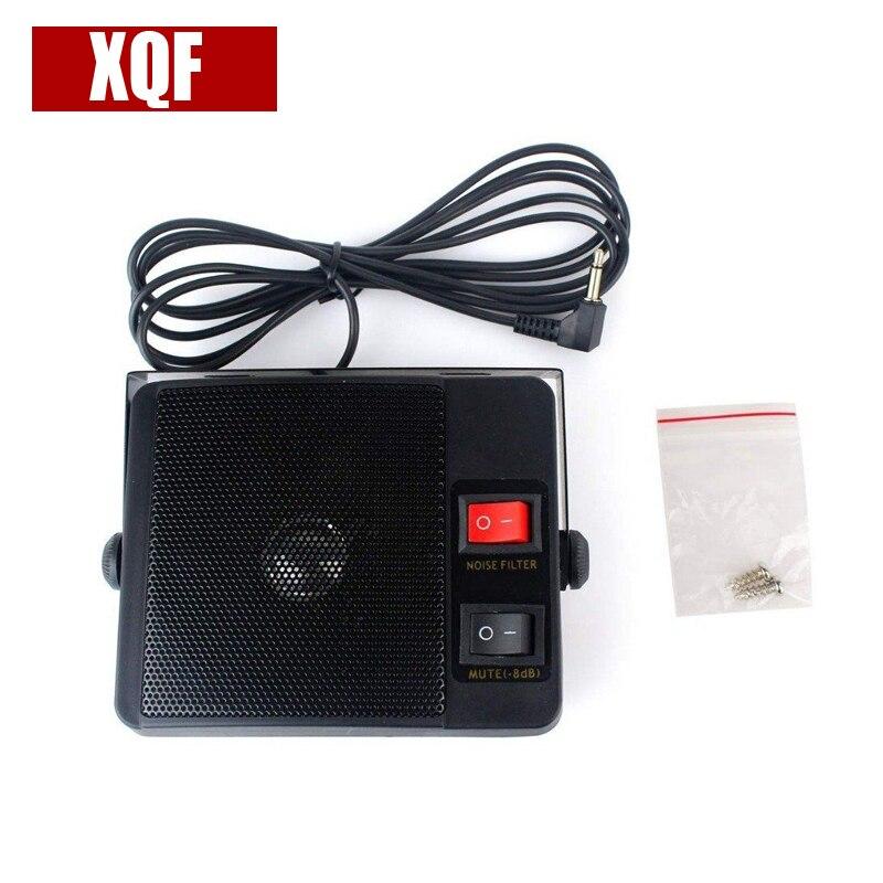XQF 3.5mm Jack Heavy Duty TS-750 External Speaker For Yaesu Kenwood Icom CB Radio