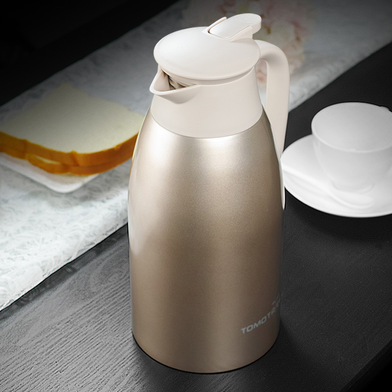 2000ml Thermos Kettle Insulation Thermo Kettle Stainless Steel Thermal Vacuum Coffee Pot Household Vacuum Flask Thermos Pots