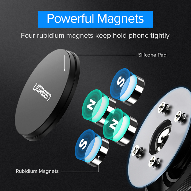Magnetic Car Holder Dashboard & Wall Mount