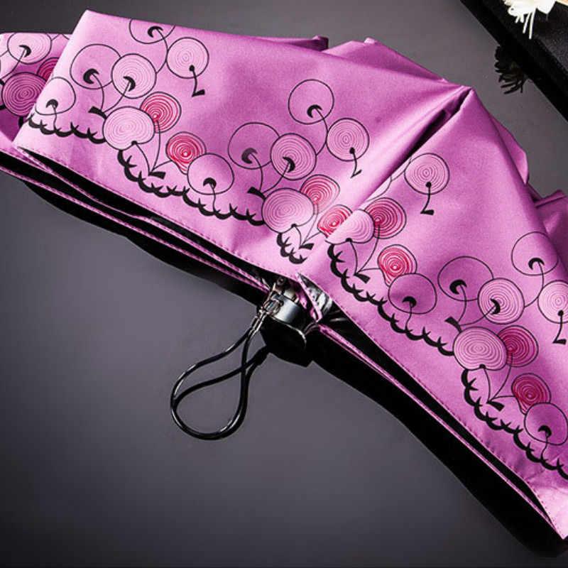 c2abe68ba8f9 Windproof Travel Umbrella Folding Lightweight 5 Fold Mini Pocket Umbrella  Women Parachase Parasol Mini Folding Umbrella 60U0004