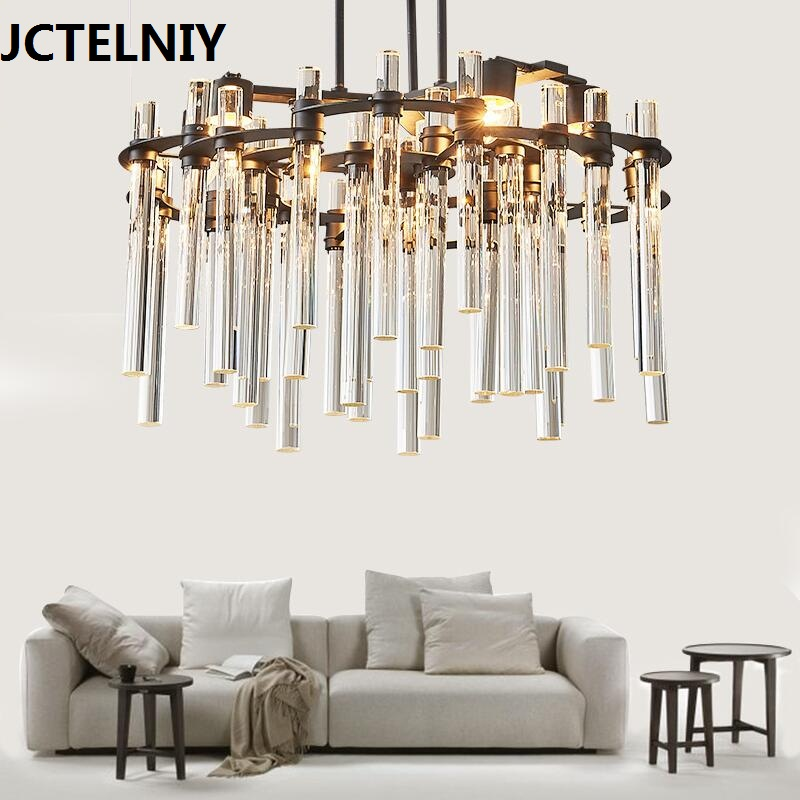 Modern crystal chandelier Nordic creative living room restaurant lamps and lanterns designer new bedroom simple lighting decorat цена и фото