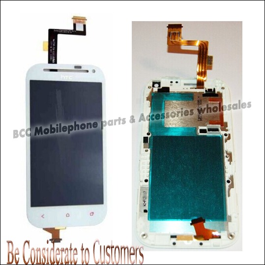 100% Original LCD Display +Touch Screen Assembly Digitizer Panel with Frame For HTC T528T Black/White Tools Free Shipping 5pcs бп atx 600 вт exegate atx xp600