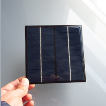 2PCS X 9V 2W 220mA Mini monocrystalline polycrystalline solar battery Panel charger