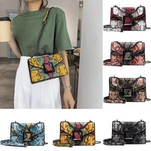 Women's Bag Snake Print Should