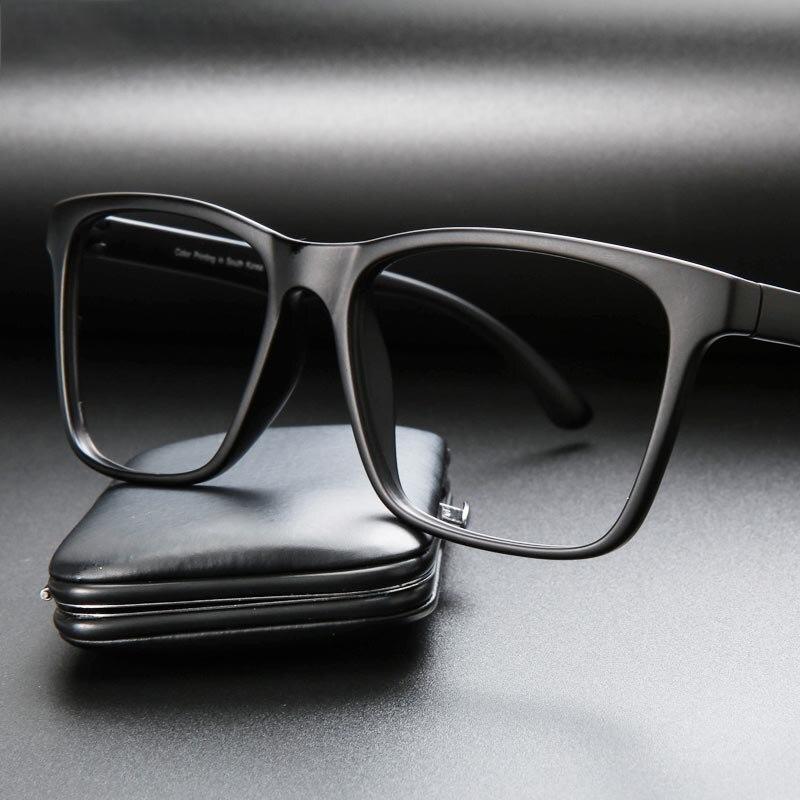 Bekleidung Zubehör Vazrobe Acetat Brillen Rezept Männer Frauen Schwarz Optische Brille Mann Der Grad Progressive Photochrome 1,56 1,61