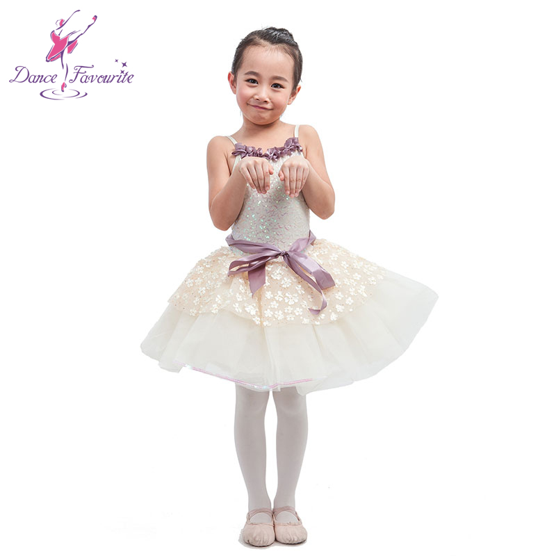 2016 new arrival ivory sequin bodice ballet tutu, girl stage performance ballet costume tutu