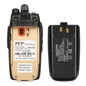 Image 4 - TYT UV8000E Handheld Transceiver Dual Band 10W Cross band Repeater Black Tri Power 3600mA Transceiver Radio Walkie Talkie Cable
